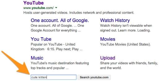 Znacznik WebSite - wyszukiwanie
