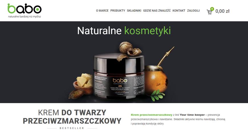 Naturalne kosmetyki babo sklep internetowy #1